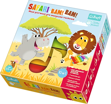 Safari Bam! Bam! - Little Planet (01383)