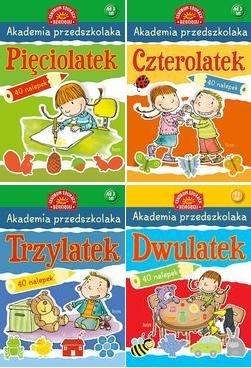 Pakiet akademia przedszkolaka od 2-5 lat praca zbiorowa