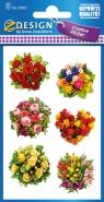 Naklejki z kwiatami - Bukiety (54383)
