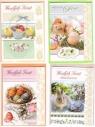 Karnet B6 Wielkanoc BBW świeckie (10szt)