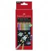 Kredki ołówkowe metaliczne sześciokątne 10 kolorów (201583)