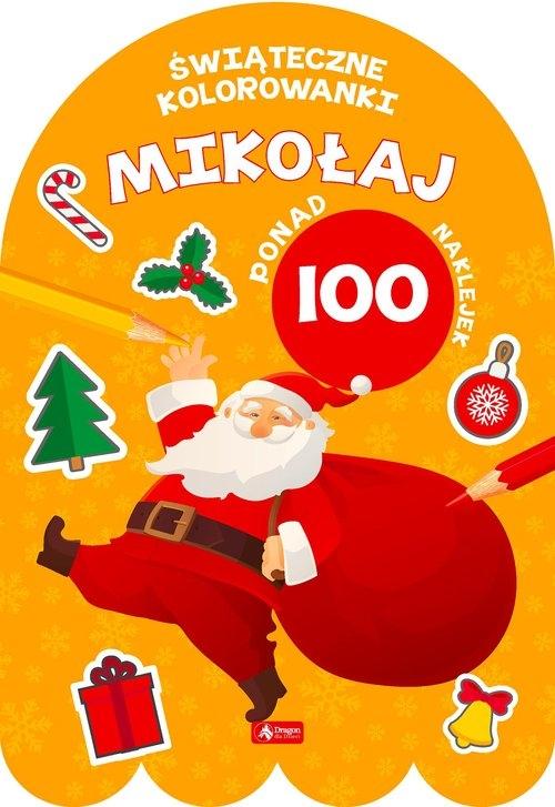 Mikołaj - Kolorowanka z naklejkami