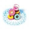Gumki do ścierania pachnące słodkie Pączki Dainty Donuts, 6 gumek