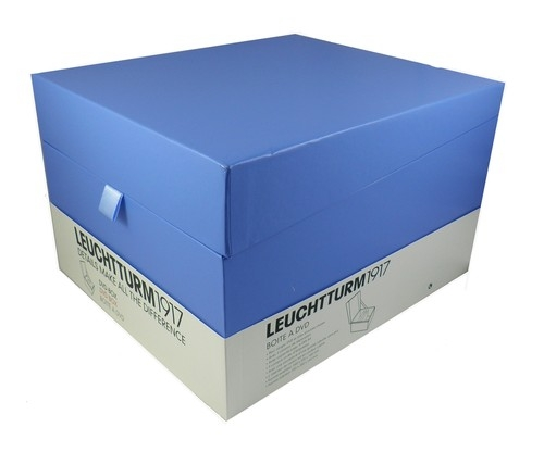 Pudełko na płyty DVD Leuchtturm1917 chabrowe