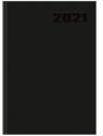 Kalendarz 2021 książkowy A5 Basic DTP czarny