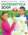 Matematyka 2001. Podręcznik z płytą CD do klasy 6 szkoły podstawowej