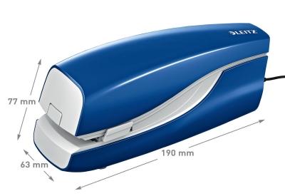 Zszywacz Leitz elektryczny NeXXt Series niebieski 20 k. (55330035)