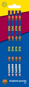 Grafitowy ołówek Barcelona 4w1 Blister