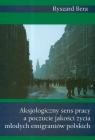 Aksjologiczny sens pracy a poczucie jakości życia młodych emigrantów polskich