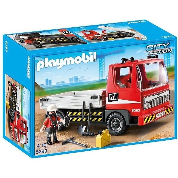 Ciężarówka budowlana