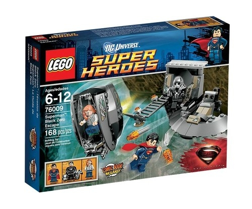 Lego Superheroes Superman Ucieczka z Black Zero  (76009)