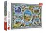 Puzzle 1000: Zamki Świata TREFL