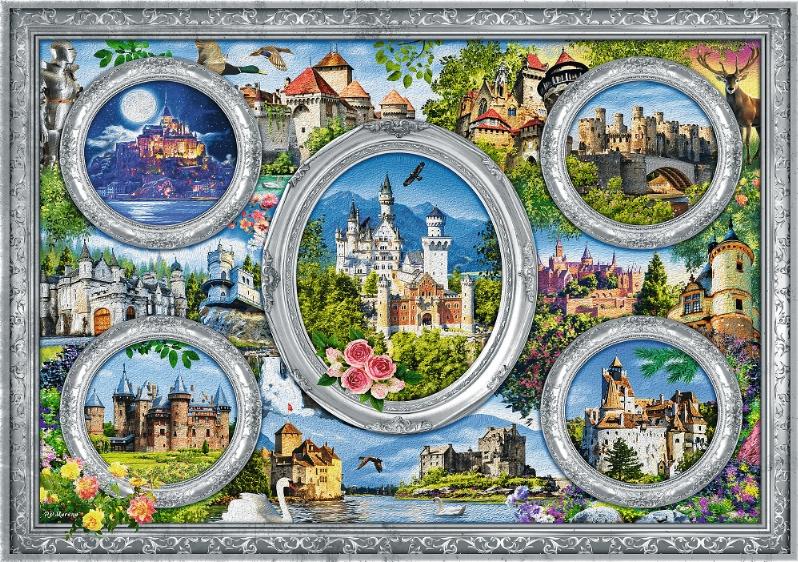 Puzzle 1000: Zamki Świata (10583)