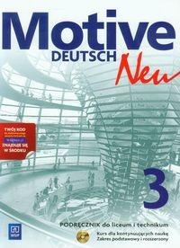 Motive Deutsch Neu 3. Podręcznik z płytą CD. Zakres podstawowy i rozszerzony Jarząbek Alina Dorota, Koper Danuta