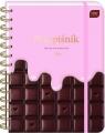 Przepiśnik  Chocolate, z gumką A5/240k (433235)