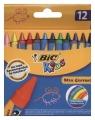 Kredki świecowe Wax Crayons pudełko 12 sztuk