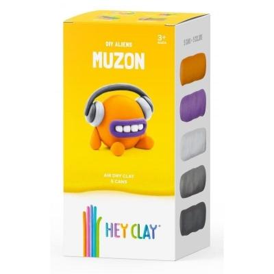 Hey Clay: masa plastyczna - obcy Muzon (HCLMA001PCS)