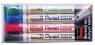 Marker do tablic MW85-4W mix kolorów (4szt) PENTEL