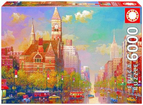 Puzzle Popołudnie w Nowym Yorku 6000 (16783)