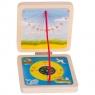 Kieszonkowy zegar słoneczny z kompasem (GOKI-63909)