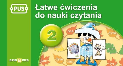 PUS Łatwe ćwiczenia do nauki czytania 2 Małysz Anna, Chromiak Małgorzata