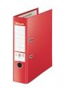 Segregator Esselte No.1 VIVIDA Plus A4/8cm - czerwony (81183)