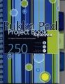 Kołozeszyt A5 Pukka Pad Stripe w kratkę 250 stron różowo-niebieski