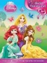 Disney Księżniczka Świat dziewczynek + naklejki, szablony i zakładka