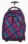 Plecak młodzieżowy na kółkach CoolPack Target Scarlet