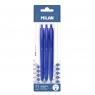 Długopis Milan P1 Touch, niebieski - 3 szt. (BWM10253)