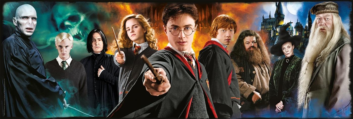 Clementoni, Puzzle Panorama 1000: Harry Potter (61883)
