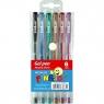 Długopisy żelowe Fun&Joy metaliczne, 6 kolorów (203261)
