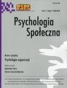 Psychologia Społeczna Tom 11 nr 1 (36) 2016