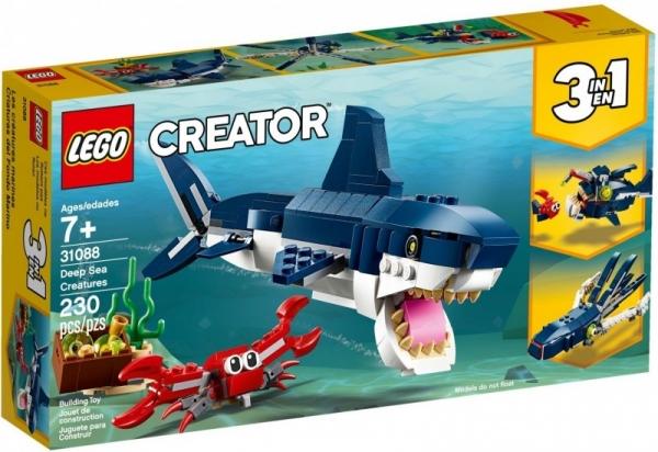 Klocki Creator Morskie stworzenia (31088)