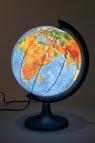 Globus 250 Fizyczny 3D podświetlany