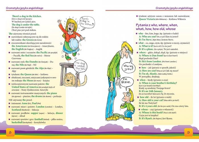 Ilustrowany słownik angielsko-polski, polsko-angielski Daniela MacIsaac