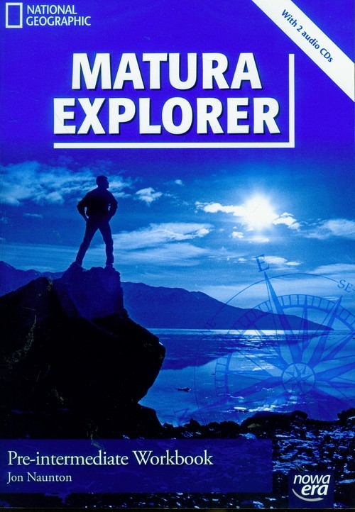 Matura Explorer Pre-intermediate workbook z płytą CD Naunton Jon