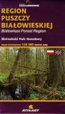 Region Puszczy Białowieskiej mapa turystyczna Białowieski Park Narodowy
