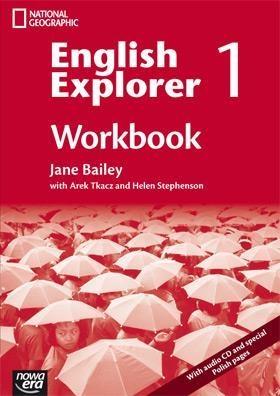 English Explorer 1 Workbook with 2 CD Bailey Jane, Tkacz Arek, Stephenson Helen