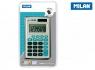 Kalkulator Milan kieszonkowy w etui 8 pozycyjny - Niebieski (150208BBL)