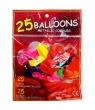 Balony metalic 25 szt