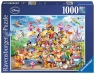 Puzzle 1000: Karnawał postaci Disneya (19383)