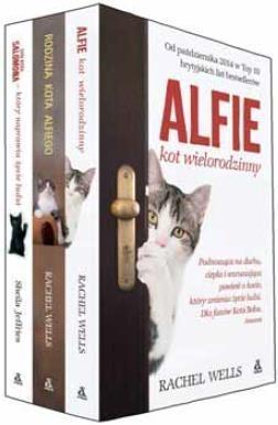 Alfie kot wielorodzinny / Rodzina kota Alfiego / Syn kota Salomona Weells Rachel , Jeffries Sheila