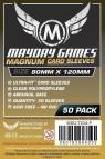 Koszulki Magnum Gold 120x80 czarne (50szt) MAYDAY