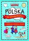 Polska do kolorowania - z kredkami dookoła Polski