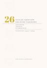 Katalog rękopisów Biblioteki Narodowej tom 26