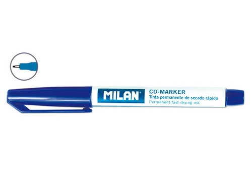 CD marker Milan niebieski 10 sztuk
