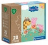 Clementoni, puzzle Play For Future 2x20: Peppa Pig (24783)