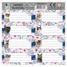Naklejka na zeszyt - Cleo i Frank koty (DRF-078837) mix wzorów