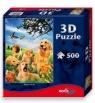 Psy - puzzle 500 elementów z efektem 3D
